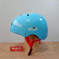 HELM SEPEDA VITANO - LIPAT / BMX / MTB / SKATEBOARD - ICE BLUE