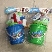 Mainan Anak Perempuan Little Helper Bersih Sapu Pel