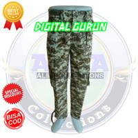 Celana PDL cargo panjang Pria loreng army motif DIGITAL GURUN - 28