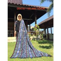 kain tenun ikat Lombok asli tenun