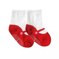 kaos kaki bayi anak perempuan 0-2 tahun dengan anti slip