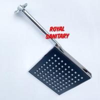 Shower Tembok minimalis Kotak 6inch- Wall Shower Mandi Tanam