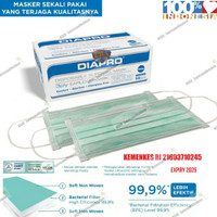 Masker Diapro Earloop 3 Ply - Surgical Mask