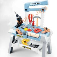 Mainan Anak Alat Tukang tukangan Tool Set Besar Mainan Smaer Tool