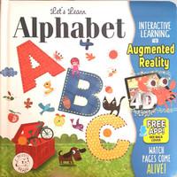 Buku Anak Import disney Augmented Reality AR 3D 4D Magic little hippo