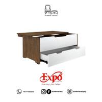 Meja Tamu Expo CT 9009 / Coffee Table / Meja Tamu Minimalis Expo Putih