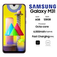 SAMSUNG GALAXY M31 6/128GB 6000MAH GARANSI RESMI