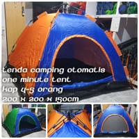 Tenda Camping Otomatis 4-5 orang - Tenda kemping Otomatis HY-281