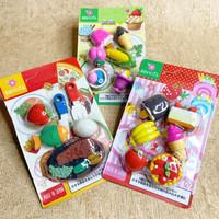 3D FOOD ERASER PUZZLE / mainan anak penghapus makanan lucu koleksi