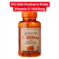 Puritans Pride Vitamin C 1000mg Bioflanoids & Rose Hips