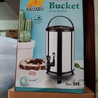 Termos Jumbo Nagako 10 Liter / Drink Jar. Termos Air Kran Milk Tea