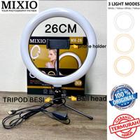 RING LIGHT LED 26CM + Tripod BESI TP002 Make Up Tiktok Ringlight PAKET