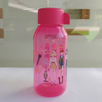 Fancy Bottle Tupperware KPop Daebak 350ml Pink / Tumbler
