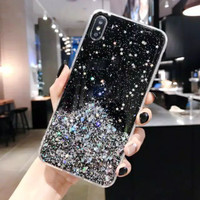 Case Samsung A20 A30 A50 A30S A50S A51 A71 M30S M21 Soft TPU Glitter