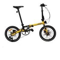 TERMURAH Sepeda Lipat Element Troy Bike To Work B2W Frame Chromoly