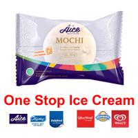 Mochi Vanilla Aice Ice Cream Es Krim Eskrim Moci rasa Vanila dan ketan