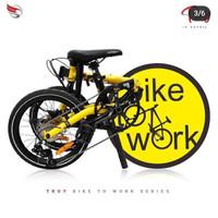 Sepeda Lipat Element Troy Bike To Work B2W Frame Chromoly