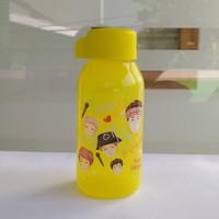Fancy Bottle Tupperware KPop Daebak 350ml Yellow / Tumbler