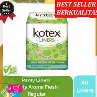 KOTEX Liners Daily Aroma Fresh Daun Sirih Reguler 40 Liners