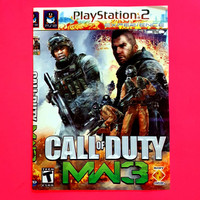 KASET GAME PS2 CALL OF DUTY MW 3