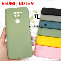 "XIAOMI REDMI NOTE 9 "" Soft Case CANDY MACARON Babyskin Silicon"