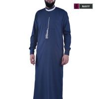 Jubah Pria Dewasa Bordir Gamis Pria Fashion Muslim