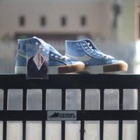 Sepatu Compass Gazelle High Blue Sky