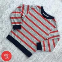 Sweater Anak Laki-Laki - H&M Stripe Kids Sweatshirt