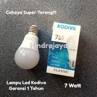 Lampu Led 7W / Led 7 watt Kodiva Garansi 1 Tahun