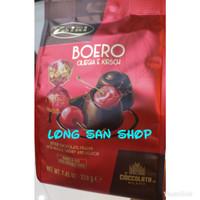 Zaini Boero Bitter Chocolate Praline Cherry & Liquor - Coklat Impor