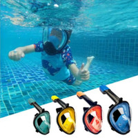 Snorkling Snorkel Diving Scuba Snorkle SNORKELING Full Face Murah - S or M Pink