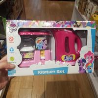 gr# my little pony kithen set/mainan edukasi anak/jastip mainan origin