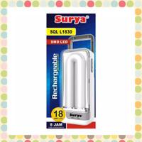 Lampu Darurat / Emergency Lamp Surya SQL L1830 18 SMD LED Rechargeable