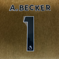 Original EPL Nameset A Becker 1 liga inggris No Jersey