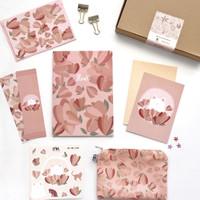 Pink Floral Set (Hampers Set / Birthday Gift)