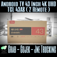 Smart TV Android TCL 43 Inch 4K UHD New (Netflix Youtube) 43A8