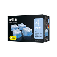 4 Pack - Cairan Pembersih - Braun Clean and Renew Refill Cartridge