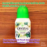 NEW SCENT CRYSTAL Deodorant Roll-On Crystal Essence VANILLA JASMINE