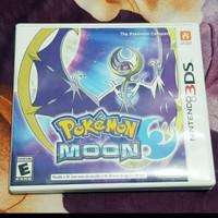 Kaset Nitendo 3DS Pokemon Moon 100% Baru,BNOB