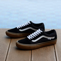 Vans Old Skool Pro Black / Gum ( ULTRACUSH )
