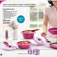 Tupperware Sweet berry set