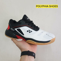 Sepatu Badminton Yonex 65xm Grade Original Black White Tennis Pria