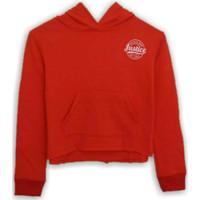 Sweatshirt Justice Hoodie Red Anak Perempuan