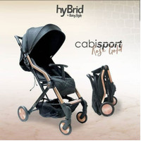 Hybrid Cabi Sport Black Rose Gold Stroller Kereta Dorong Bayi