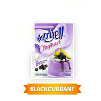 Nutrijell yoghurt blackcurrant 35 gram