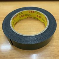 "Double Foam Tape CSS 1"" Inch x 5m Double Tape Hijau Busa Nippon"