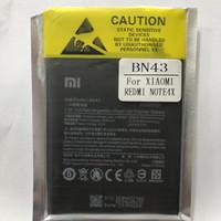 Baterai Battery Batere Original Xiaomi Redmi Note 4X BN43