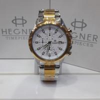 Jam tangan pria Hegner HW425G original chronograph