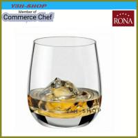 Gelas Rona Lunar Old Fashion Crystalline Glass Made in Czech ( 6pcs)