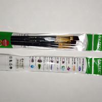 VTec Kuas Watercolors Cat Brush Set A0284C/4